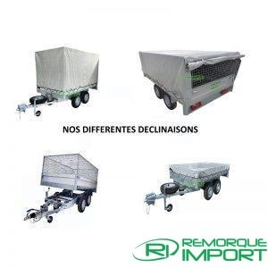 Packs Remorque aluminium