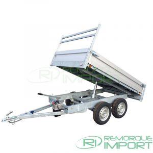 remorque benne aluminium 750kg